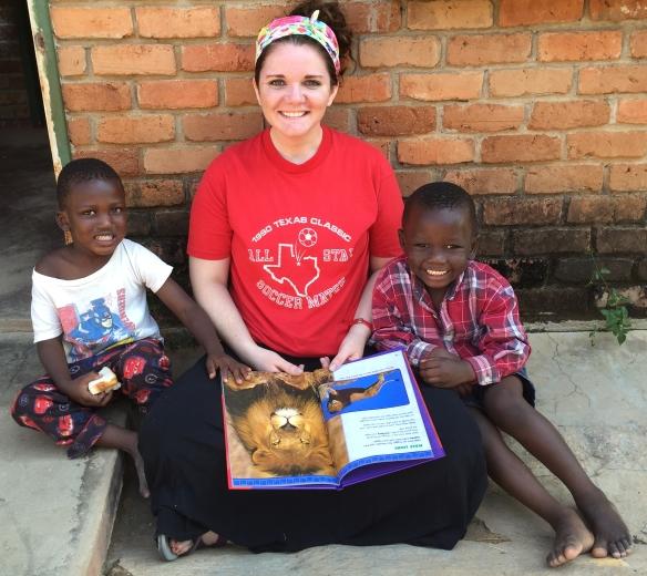 Jana Miller in Zambia